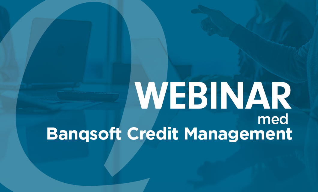 Banqsoft Credit Management Webinar